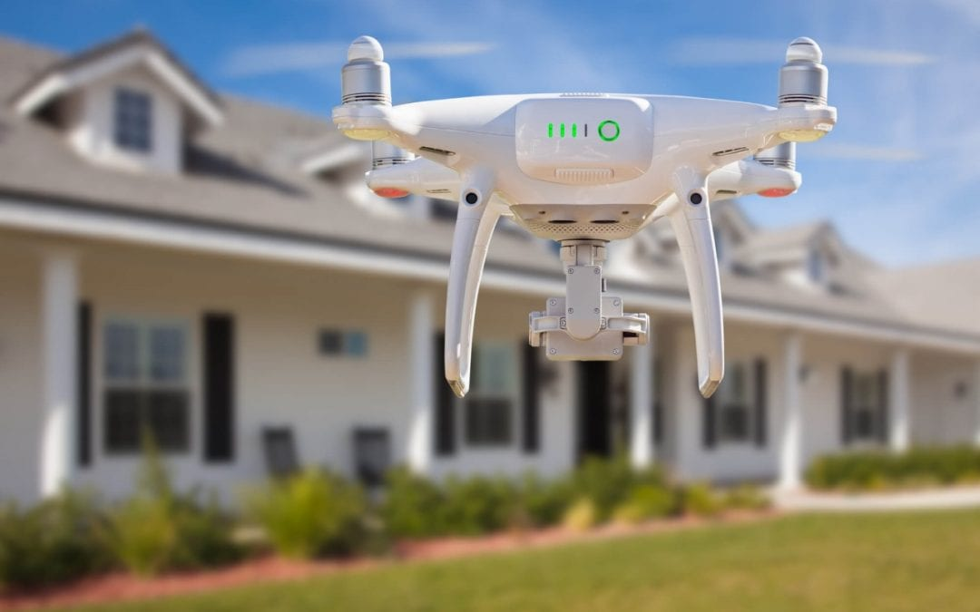 drones in home inspections